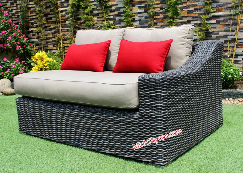 Sofa Nhựa Giả Mây MT1A23